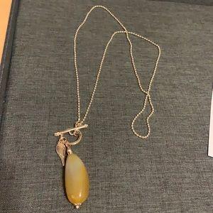 Toggle clasp beautiful Carmel necklace
